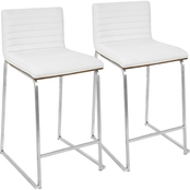 LumiSource Mara Counter Stool 2 pk.