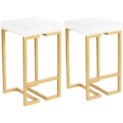 LumiSource Midas Counter Stool Set of 2
