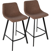 LumiSource Outlaw Counter Stool 2 pk.