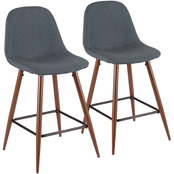 LumiSource Pebble Counter Stool 2 pk.