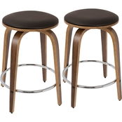 LumiSource Porto Counter Stool 2 pk.