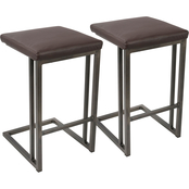 LumiSource Roman Counter Stool 2 pk.
