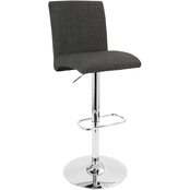LumiSource Tintori Adjustable Swivel Stool