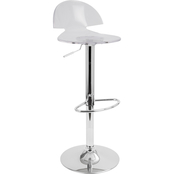 LumiSource Venti Adjustable Barstool