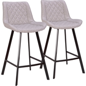 LumiSource Wayne Counter Stool 2 pk.