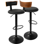LumiSource Weller Adjustable Barstool