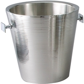 Leeber Limited Elegance Lines Wine Cooler/Champagne Bucket Double Wall, 9 in.
