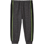 Gumballs Infant Boys Marled Neon Trim Jogger Pants