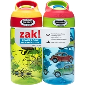 Zak Bugs-Bug Cars 16 oz. Water Bottle 2 pc.