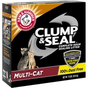 Arm & Hammer Clump and Seal Clumping Litter Multi Cat 19 lb. Bag