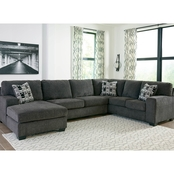 Signature Design by Ashley Ballinasloe 3 pc. Sectional LAF Chaise/RAF Sofa/Loveseat