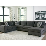 Signature Design by Ashley Ballinasloe 3 pc. Sectional RAF Chaise/RAF Sofa/Loveseat