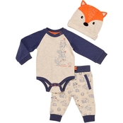 Baby Starters Forest Friends Boys Infant 3 Pc. Pant Set