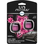 Febreze Unstopables Car Air Freshener Vent Clip Shimmer 2 ct.