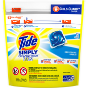 Tide Simply Pods Refreshing Breeze 22 pk.