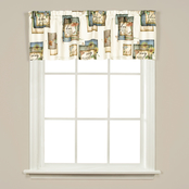 Saturday Knight LTD Garden Love 58 x 13 in. Valance Window Curtains