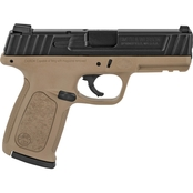 S&W SD9 9MM 4 in. Barrel 16 Rds 2-Mags Pistol Flat Dark Earth