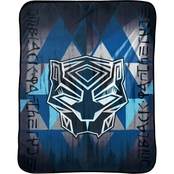 Marvel Black Panther Tribe Plush Throw