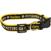 Pets First NFL Pittsburg Steelers Collar