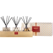 NEST Fragrances Festive Reed Diffusers Trio Set