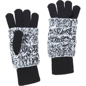 New York Accessory Marled Knit Gloves