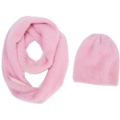 New York Accessory Faux Furry Hat and Scarf Set
