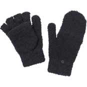 New York Accessory Furry Knit Gloves