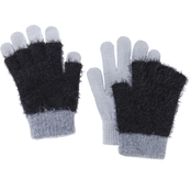 New York Accessory Colorblock Knit Gloves