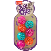 Hartz Just For Cats Midnight Crazies, 7 Mini Balls