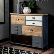 Signature Design by Ashley Ponder Ridge Accent Cabinet