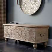 Signature Design by Ashley Fossil Ridge Storage Bench