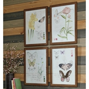 Signature Design by Ashley 4 Pc. Carlisia Wall Art Set