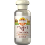 Sundown Naturals Pure Vitamin E Oil 70,000 IU 2.5 oz.