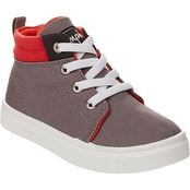 Oomphies Boys Sam High Top Canvas Sneakers