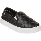 Oomphies Girls Madison Quilted Slip On Shoes