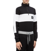 Calvin Klein Jeans Colorblock Quarter Zip Sweater