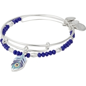 Alex and Ani Peacock Color Infusion 2 pc. Bracelet Set