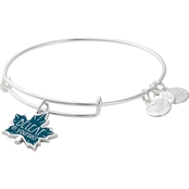 Alex and Ani BeLeaf in Yourself Color Infusion Charm Bangle Bracelet