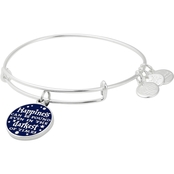 Alex and Ani Harry Potter Happiness Can Be Found Charm Bangle Bracelet