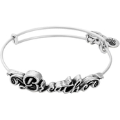 Alex and Ani Spiritual Armor Raphaelian Silver Breathe Bangle Bracelet