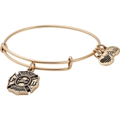 Alex and Ani Firefighter Charm Bangle Expandable Charm Bracelet