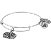 Alex and Ani Queen's Crown Charm Bangle  Girls on the Run Expandable Bracelet
