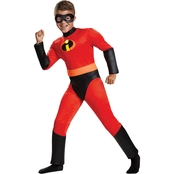 Disguise Ltd. Boys Incredibles 2 Dash Classic Muscle Costume
