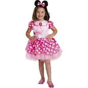 Disguise Ltd. Toddler Girls Pink Minnie Mouse Costume