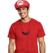 Disguise Ltd. Boys Super Mario Bros. Luigi Hat and Mustache Necklace Kit