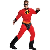 Disguise Ltd. Men's Incredibles 2: Mr. Incredible Classic Muscle Costume