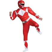 Disguise Ltd. Men's Power Rangers Classic Muscle Costume