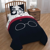 Warner Brothers Harry Potter Always Twin / Full Comforter