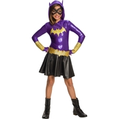 Rubie's Costume Little Girls / Girls DC Super Hero Batgirl Hoodie Dress Costume