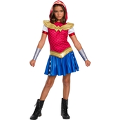 Rubie's Costume Little Girls / Girls DC Wonder Woman Hoodie Dress, S (4-6)